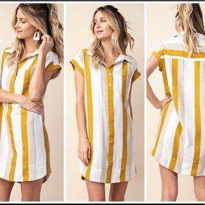 Shirt Dress Chic NWOT